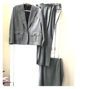 Talbots Grey Corporate business suit